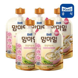 맘마밀 아스파라거스와닭가슴살 100g 5팩 (12개월)