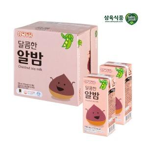 삼육 달콤한 알밤두유 190ml x 12팩 스마일배송 사업자