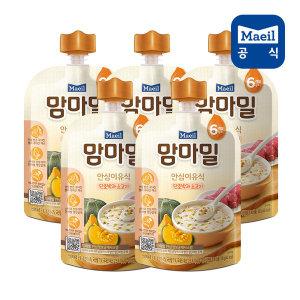 맘마밀 단호박과소고기 100g 5팩 (6개월)/이유식