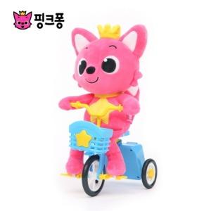 핑크퐁 멜로디 자전거 인형(완구/교구)