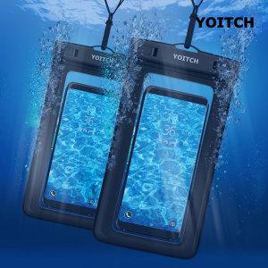 1+1 핸드폰 휴대폰 방수팩 레릭 YPW300 - 블랙 +블랙