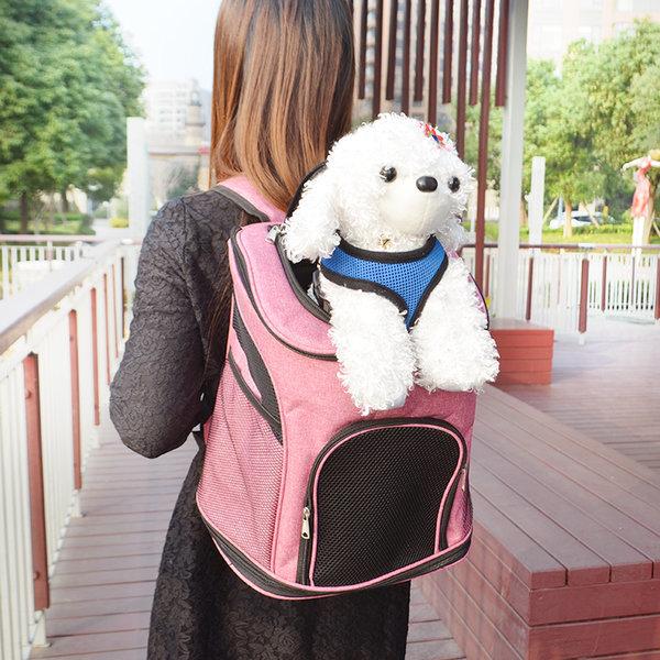 펫배낭 강아지 고양이 백팩 여행 가방