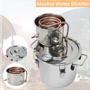 8L 가정용 증류기 알코올 물 증류기