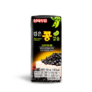 삼육 검은콩칼슘두유 190ml 96팩 유통기한4달이상