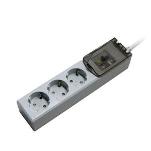 루넥스 고용량 멀티탭 냉난방 누전 차단용 3구 4000W