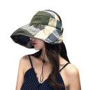 루브 프라햇/예쁜 여성 돌돌이 썬캡/여름 비치 모자