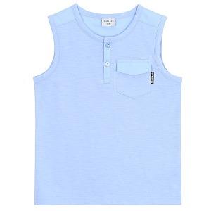 포켓 민소매 티셔츠_BL_F18D1TK482