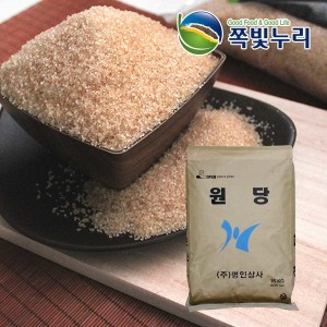 비정제 원당 천연당 15kg 지대 효소 과일청 매실