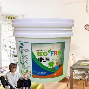 에코프리 페인트(4L)-천연페인트 벽지페인트 규조토