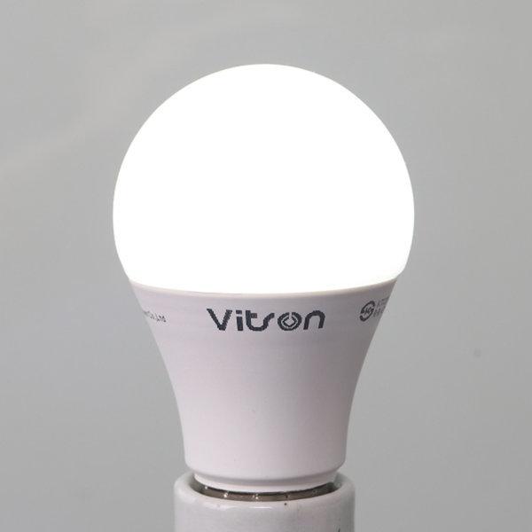 삼파장 대체형 KS LED 8W 에코 벌브 램프 전구 주광색