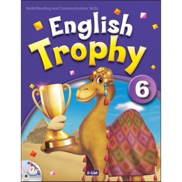 English Trophy : 6 : Student book with Workbook   Digital CD  A List