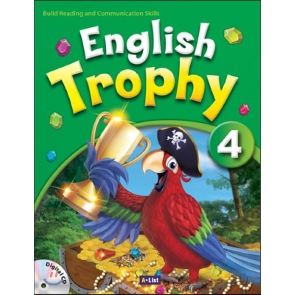 English Trophy : 4 : Student book with Workbook   Digital CD  A List