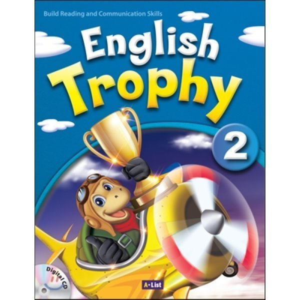 English Trophy : 2 : Student book with Workbook   Digital CD  A List