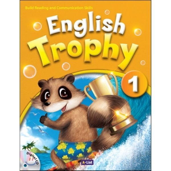 English Trophy : 1 : Student book with Workbook   Digital CD  A List