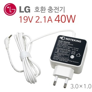 LG gram 14Z970 노트북 어댑터 충전기 19V 2.1A 호환