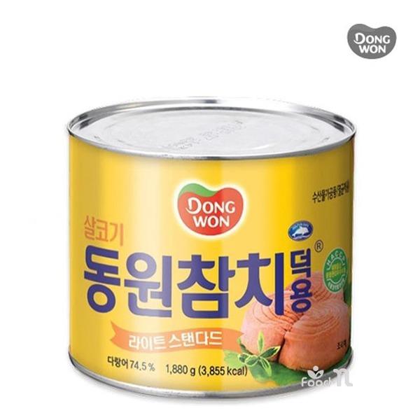 동원 살코기참치 1880g / 덕용참치 / 식자재 / 업소용