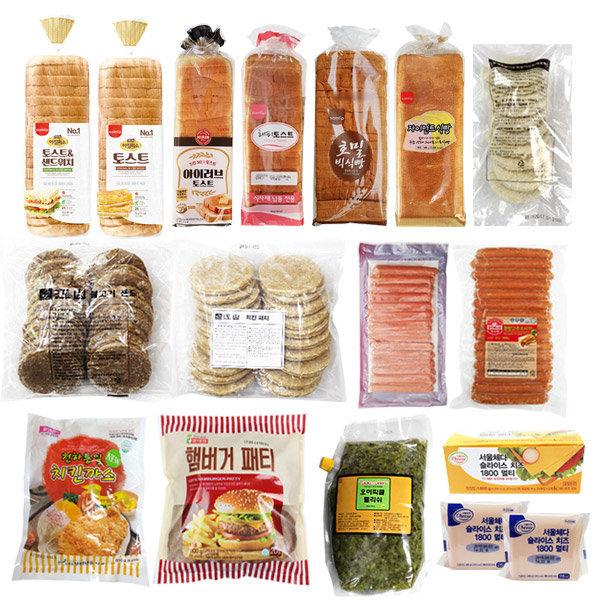 토스트소스2kg/유니푸드/T-소스/식빵/치즈/슬라이스햄