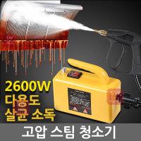 고온 고압 스팀 청소기 130도 만능살균청소 가정 공업