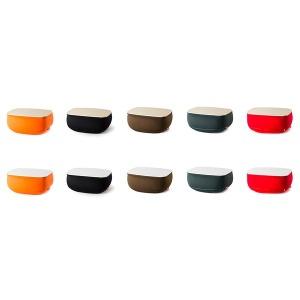 다양한 컬러/다양한 상판재질의 타볼리노 쿠션테이블