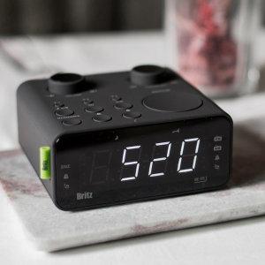 탁상용 디지털 라디오 미니 시계 알람 효도 라디오