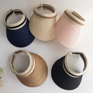 유아동 라탄 썬캡 썬햇 여름모자 6color