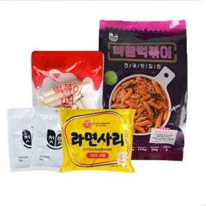 캠핑간편요리 야식 간식 핵템떡볶이(2인분)