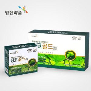 영진약품 징코골드 혈행개선 기억력개선 120캡슐
