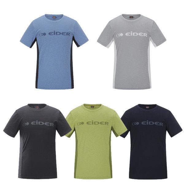 로고 라운드 남성 티셔츠 2 / 등산티 라운드티 반팔 (DMS18213)