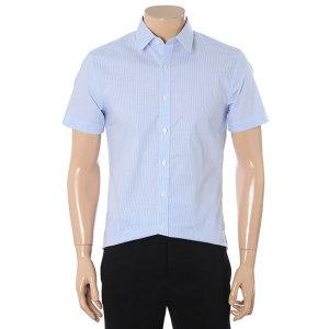 스트라이프 스판 반소매 셔츠(ADY2WD1925)