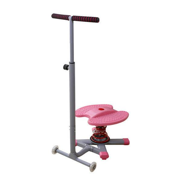 점핑 다이어트 유산소 실내운동기구 트위스트킹 핑크