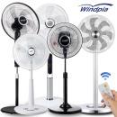 가정용선풍기 업소용선풍기 스탠드 선풍기 WA-370블랙
