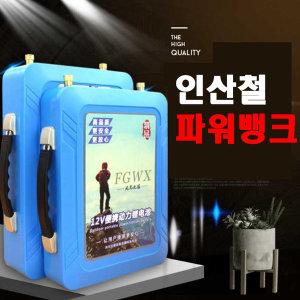 리튬 인산철 파워뱅크 배터리 하드케이스 캠핑용 100A
