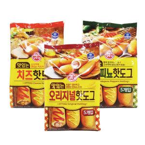 맛있는 할라피뇨핫도그(5개입) 400g (H) ice