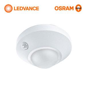 원형 무선 LED 센서등 동작감지 현관등 건전지포함