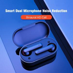 QCY  T3 무선 블루투스 이어폰 3세대 V5.0 블랙