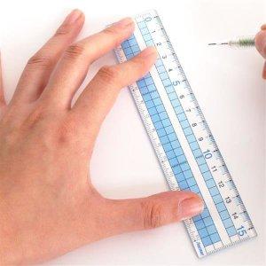 Raymay 레이메이 보기 쉬운 방안자 15cm(AJH158)