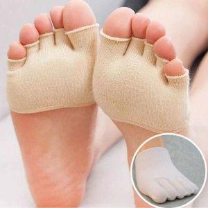 국산 남녀공용 오픈 발가락 토우캡 양말