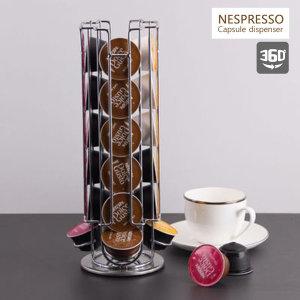 네스프레소 커피 캡슐보관함 홀더 뷰큐브 거치대 회전