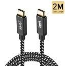 UM2 CPD100W2M USB 3.1 gen2 C to C PD케이블 100W 2M