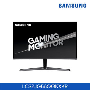 삼성 커브드 QHD 게이밍 모니터  LC32JG56QQKXKR