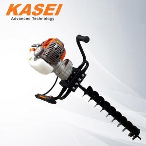 KASEI 엔진굴착기 300S/1인용 비트포함 천공기 굴착기