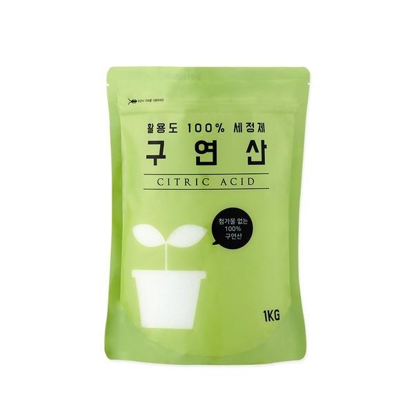 구연산 1kg / 아기용품소독 천연세제