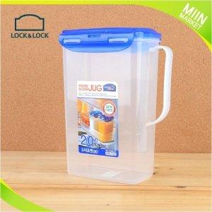 락앤락 손잡이 물통 물병 2L 밀폐용기 가정용 식당용