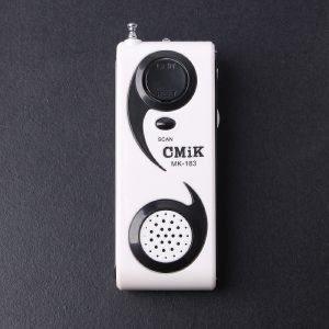 포켓형 버튼식 라이트 라디오 소형라디오 효도라디오
