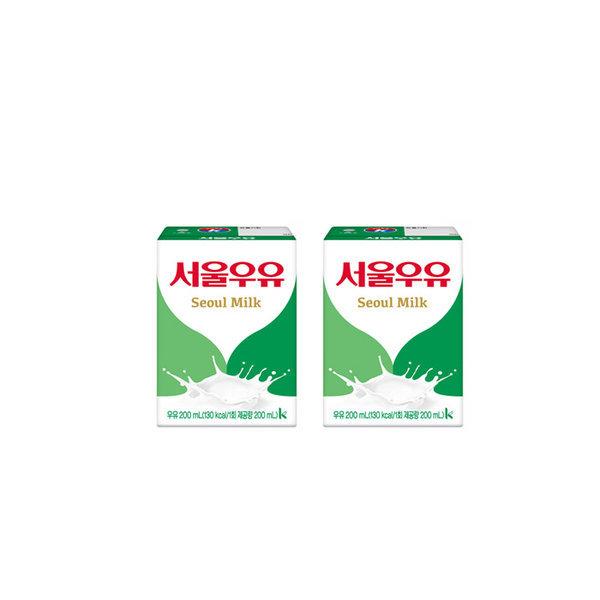 서울 흰우유 200ml x 24입