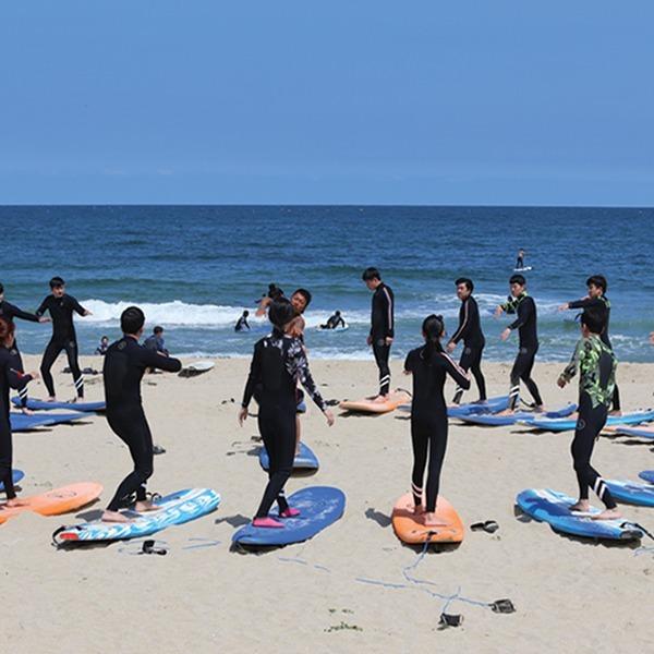 (예약필수) 청시행 Beach 서핑강습+음료(~7/31)
