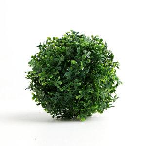 초록 인조 잔디볼(12cm)/인테리어소품 조경 인조잔디