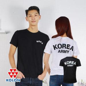 군인 군용 로카 쿨론 기능성 빅사이즈 반팔 쿨 티셔츠