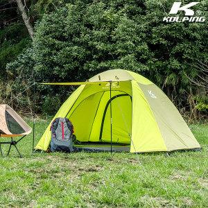 콜핑 심플한 크로스폴 구조 텐트 베키II KFN2192U