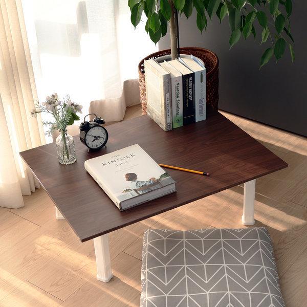 접이식 테이블 대형 월넛 / 좌식 다용도상